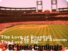 It doesn't matter how far I move away from home, the Cardinals will always come with me!
