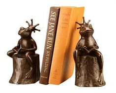 Frog Prince, Bookends