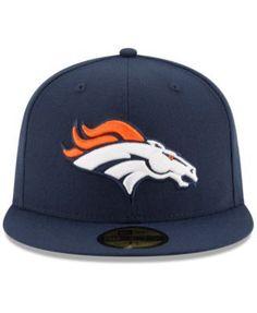 New Era Denver Broncos Team Basic 59FIFTY Fitted Cap - Navy/Navy 7 1/4
