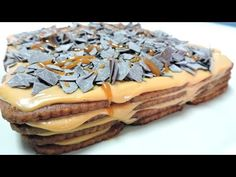 CHOCOTORTA (tarta de galletas con dulce de leche)