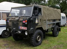 The Land Rover 101 Forward Control. Awesome trail utility vehicle.