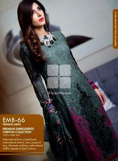 Gul Ahmad Eid Royal Festive Dresses 2014