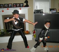 Gangster Mama - Halloween Costume Contest via @costume_works