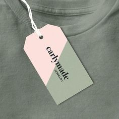 Product Label Clothing Tags Business Tags Hang by OrangeValentine Logo Design, Graphic Design Services, Label Design, Print Design, Branding Design, Hangtag Design, Custom Design, Price Tag Design, Name Tag Design
