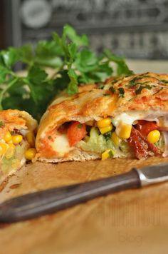 calzone z warzywami 3