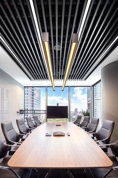 Biuro EY, Warszawa, Armstrong, sufity podwieszane, sufit akustyczny, acoustic, ceiling