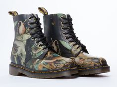 Dr. Martens X Bosch Pascal Mens in Hell at Solestruck.com