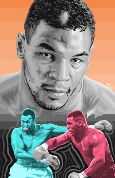 Collage of Mike Tyson Ufc, Mike Tyson Quotes, Mike Tyson Boxing, Home Boxing Workout, Star Trek Posters, Muhammad Ali Boxing, Boxing Posters, Boxing History, Chest Piece Tattoos