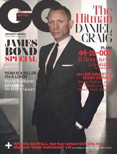 Daniel Craig - British GQ - James Bond #007::// Smoking hot.