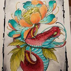 Lotus Drawing, Peony Drawing, Japanese Tattoo Art, Japanese Painting, Flower Tattoo Drawings, Flower Tattoos, Japanese Lotus, Japanese Animals, Oriental Tattoo