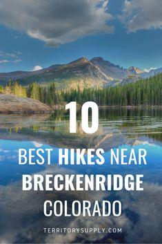 Explore 10 of the best hikes near Breckenridge, Colorado, from challenging to family-friendly nature walks. Colorado Hiking, Hiking Spots, Hiking Trips, Breckenridge Colorado, Hiking With Kids, Family Dogs, Big Family, Best Hikes, Buenos Aires
