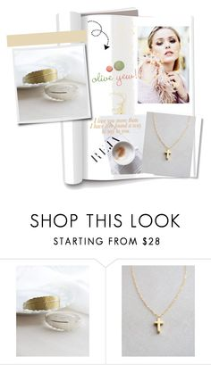 """Oliveyew 22"" by dzenyy ❤ liked on Polyvore featuring women's clothing, women, female, woman, misses, juniors, handmadejewelry, Personalizedjewelry and oliveyew"