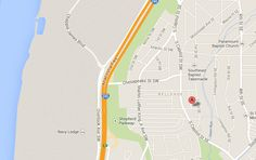 Map of Crescent Park Village in Southeast Washington DC | WC Smith #Apartments | Anacostia #Rentals