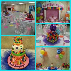 Ally's 2nd Birthday Candyland Theme