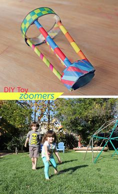 Easy DIY toy idea: Make Zappy Zoomers and watch them fly!