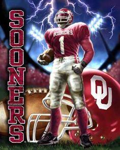 Oklahoma Sooners Player Fleece Panel Foust Textiles Inc