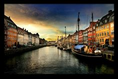 """New habour"" in Copenhagen reminds me of old history and is wonderful in the summertime.."