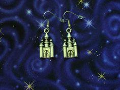 Castle Earrings by Th1rte3nsCloset on Etsy, $4.00