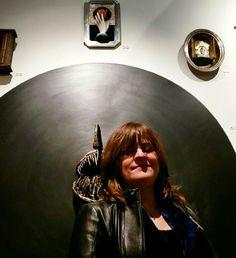 The artist, Lisa McPike Smith, of San Marcos, Texas