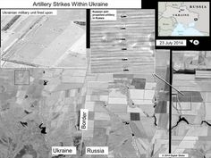 U.S. claims rockets fired from Russia into Ukraine, releases satellite images BY DEB RIECHMANN, ASSOCIATED PRESS  July 27, 2014 at 5:31 PM EDT