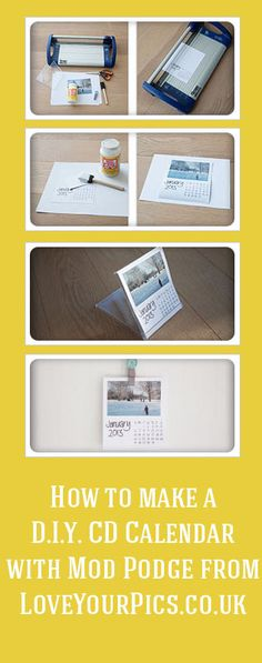 A DIY Photo Calendar that is fun and easy to make | Instagram, Craft ...