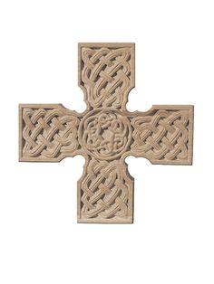 Wooden Celtic Cross, $66.00 #CatalogOfGoodDeeds #cross #orthodox #handmade #wood #StElisabethConvent #workshops