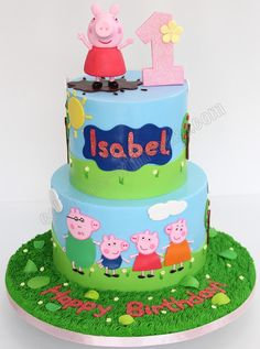 Celebrate with Cake!: Peppa Pig 2 tier