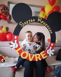 Mickey Mouse Clubhouse Decorations, Mickey Mouse Birthday Party Ideas, 2nd Birthday Party For Boys, Mickey 1st Birthdays, Mickey Mouse Bday, Mickey Mouse First Birthday, Mickey Mouse Baby Shower, Theme Mickey, Mickey Mouse Clubhouse Party