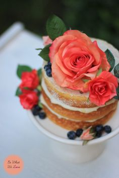 Naked Cake| Be What We Love