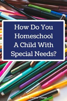 How do you homeschool a child with learning differences and/or special needs? Homeschooling with learning differences and special needs. Special Needs Resources, Special Needs Mom, Autistic Children, Children With Autism, Teaching Kids, Kids Learning, Homeschool Curriculum, Homeschooling Resources, Teaching Resources