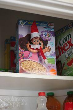 Pigskins & Pigtails » Blog Archive » 25 Elf on the Shelf Ideas