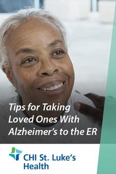 Going to the hospital can be very upsetting for people with Alzheimer's disease. As a caregiver, being prepared can make a trip to the ER a little easier. Use these tips to lessen the stress of going to the hospital with an Alzheimer's patient. Emergency Care, Alzheimers, Caregiver, Healthy Tips, Health And Wellness, First Love, Stress, People, Health Fitness