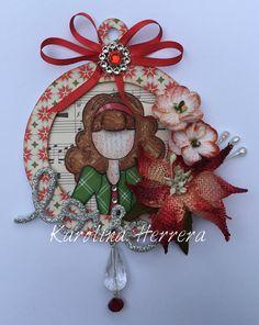 #JulieNutting #PrimaDoll #Doll #CraftMania #christmas #ornament https://m.facebook.com/byKarolinaHerrera/