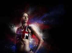 Photography of Helen Clitheroe as part of the GB Olympic Art Series. #Photography #SimonDervillerPhotography #SportsPhotography #HelenClitheroe #GBOlympicArtSeries #Art #GBOlympics #Olympics #Sports #Athlete #Sportswoman