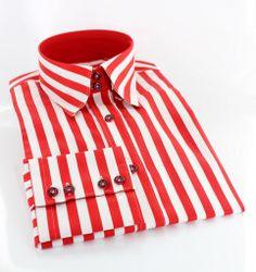 Shirt Claudio003 White £50 100% Cotton Double collar Button down ...