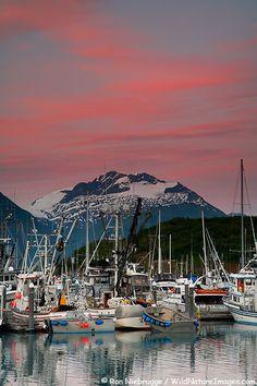 Valdez Boat Harbor, Alaska
