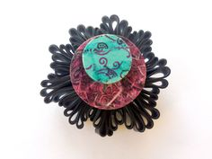 PIN IT! RUBBER BROOCH COLLECTION Enamel, Brooch, Accessories, Collection, Isomalt, Polish, Enamels, Brooches, Tooth Enamel