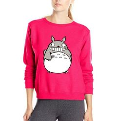 Japanese Anime My Neighbor Totoro cute women sweatshirt 2016 autumn winter woman hoodies harajuku style hooded S-2XL available
