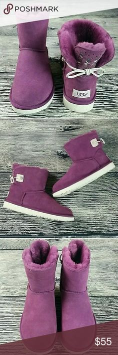 Ugg Adoria Tehuano boot Size 7 Purple winter boots Ugg Adoria Tehuano boot Size 7 Purple winter boots  New without box UGG Shoes Winter & Rain Boots