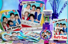 One Direction Theme Party!!