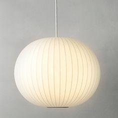Buy George Nelson Bubble Ceiling Light, Medium Online at johnlewis.com