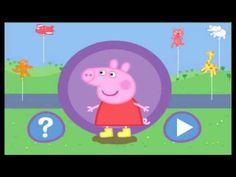 Свинка Пеппа бегает по лужам