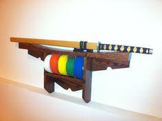Martial Arts Karate Belt Display Shelf by mobymick on Etsy