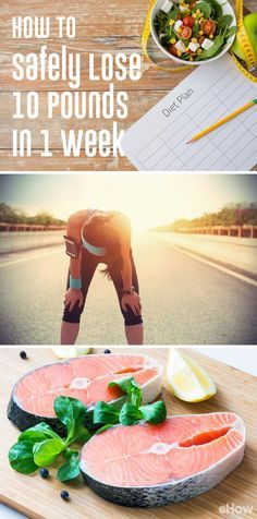 You should expect to lose a maximum of 2 to 3 pounds of fat in a week, and the rest of that slim down will come from excess water weight. While you might not meet your exact 10-pound goal in just a week, you can visually slim down within a few days through lifestyle tweaks, and use the 1-week diet to jump-start longer-lasting weight loss. www.ehow.com/how_4846891_lose-pounds-one-week.html?utm_source=pinterest.com&utm_medium=referral&utm_content=freestyle&utm_campaign=fanpage