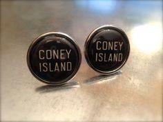 Coney Island Cuff Links by urbanindustries on Etsy, $27.00