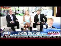Pnews : Donald Trump Rules Out a Democrat as a Running Mate