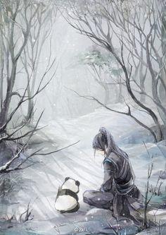 Asian fantasy art đường môn