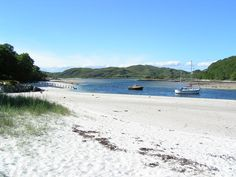 silver sands of Morar  this was the destination last year...