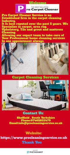 Pro Carpet Cleaner Service specialize in area rug, carpet, upholstery, tile and grout