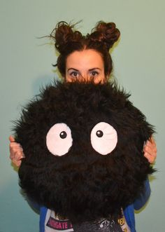 Big Soot Sprite Pillow by MOLAPILA on Etsy, $28.00